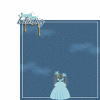 Cinderella: Believe 2 Piece Laser Die Cut Kit