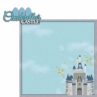 Cinderella: Castle 2 Piece Laser Die Cut Kit
