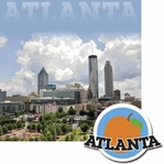 Cities: Atlanta 2 Piece Laser Die Cut Kit