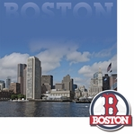Cities: Boston 2 Piece Laser Die Cut Kit