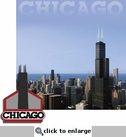 Cities: Chicago 2 Piece Laser Die Cut Kit