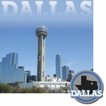 Cities: Dallas 2 Piece Laser Die Cut Kit