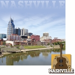 Cities: Nashville 2 Piece Laser Die Cut Kit