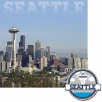 Cities: Seattle 2 Piece Laser Die Cut Kit