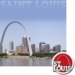 Cities: St. Louis 2 Piece Laser Die Cut Kit