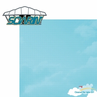 City of Tomorrow: Soarin'  2 Piece Laser Die Cut Kit