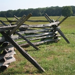 Civil War Fence 12 x 12 Paper