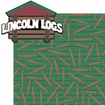 Classic Toys 2: Lincoln Logs 2 Piece Laser Die Cut Kit
