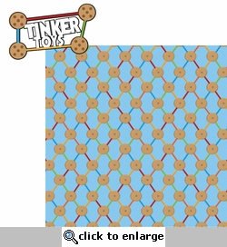 Classic Toys: Tinker Toys 2 Piece Laser Die Cut Kit