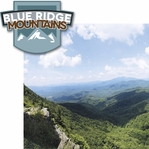 Climb Every Mountain: Blue Ridge Mountains 2 Piece Laser Die Cut Kit