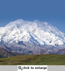 Climb Every Mountain: Mount McKinley 12 x 12 Paper