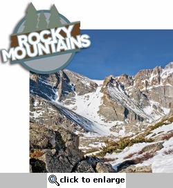 Climb Every Mountain: Rocky Mountains 2 Piece Laser Die Cut Kit