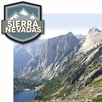 Climb Every Mountain: Sierra Nevadas 2 Piece Laser Die Cut Kit