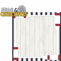 Coastal: Seas & Greetings 2 Piece Laser Die Cut Kit