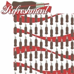 CocaCola: Refreshment 2 Piece Laser Die Cut Kit