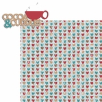 Cocoa Love: Cocoa and Cuddles 2 Piece Laser Die Cut Kit