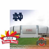 College Bowl: Fiesta Bowl 2 Piece Laser Die Cut Kit