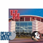 College Bowl: Peach Bowl 2 Piece Laser Die Cut Kit