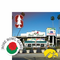 College Bowl: Rose Bowl 2 Piece Laser Die Cut Kit