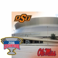 College Bowl: Sugar Bowl 2 Piece Laser Die Cut Kit