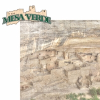 Colorado: Mesa Verde 2 Piece Laser Die Cut Kit