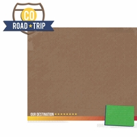 Colorado Travels:  CO Road Trip 2 Piece Laser Die Cut Kit