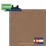 Colorado Travels: CO Vacation 2 Piece Laser Die Cut Kit