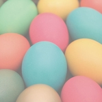 Colorful Easter Eggs 12 x 12 Paper