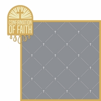 Confirmation: Faith 2 Piece Laser Die Cut Kit