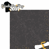 Congrats Grad: Graduation Day 2014 2 Piece Laser Die Cut Kit