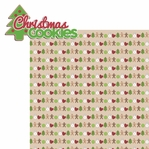 Cookie Time: Christmas Cookies 2 Piece Laser Die Cut Kit