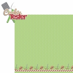 Cookie Time: Cookie Tester 2 Piece Laser Die Cut Kit