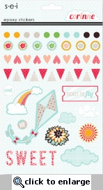 Corinne: Epoxy Sticker Sheet