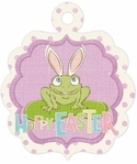 Cotton Tail: Hoppy Easter Embossed Die-Cut