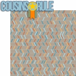 Cousins: Cousins Rule 2 Piece Laser Die Cut Kit