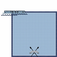 Crew: Paddle 2 Piece Laser Die Cut Kit