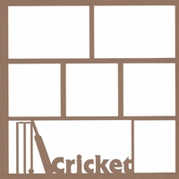 Cricket 12 x 12 Overlay Laser Die Cut