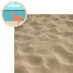 Cruise Destinations: Aruba 2 Piece Laser Die Cut Kit
