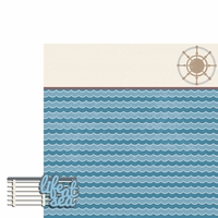 Cruise: Life at sea 2 Piece Laser Die Cut Kit