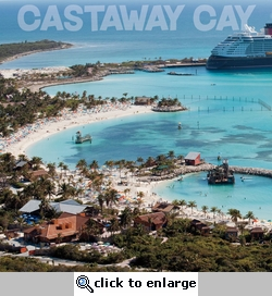 Cruise Ports: Castaway Cay 12 x 12 Paper