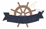 Cruise: Set Sail Laser Die Cut