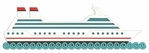 Cruise Ship Border Laser Die Cut