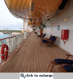 Cruise Ship Deck 12 x 12 Paper