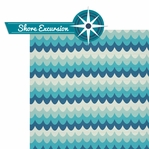 Cruisin': Shore Excursion 2 Piece Laser Die Cut Kit
