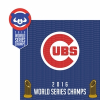 Cubs 2016 2 Piece Laser Die Cut Kit