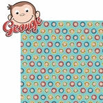 Curious Little Monkey: George 2 Piece Laser Die Cut Kit