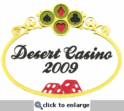 Custom Casino Laser Die Cut