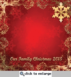 Custom Christmas Border 12 x 12 Paper
