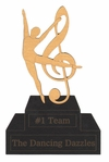 Custom Dance Trophy Laser Die Cut