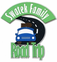 Custom Family Road Trip Laser Die Cut